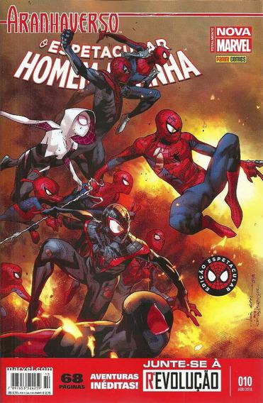 Espetacular Homem-aranha 10 Lwc Panini Bonellihq Cx185 M20