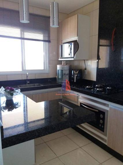 Apartamento Com 2 Dormitórios À Venda, 67 M² Por R$ 260.000 - Edifício Copacabana - Catharina Zanaga - Americana/sp - Ap0291