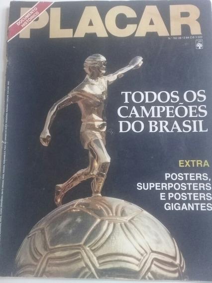 Revista Placar N 762 Todos Os Campeoes Do Brasil