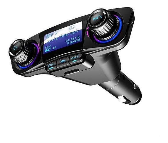 Adaptador De Rádio Sem Fio Do Transmissor Fm Carro Bluetooth