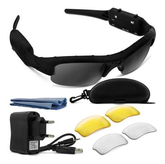 Óculos De Sol Com Câmera Sport Leadership
