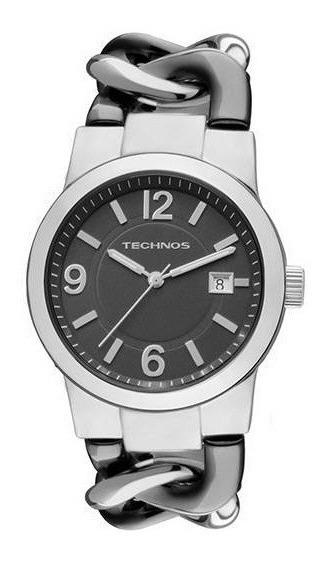 Relógio Technos Feminino Prata Nalógico 2115sg/1p
