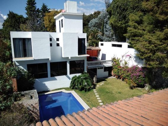 Disfrute En Cuernavaca 2 Casas En Un Mismo Predio