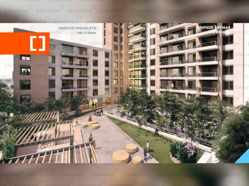 Venta De Apartamento Obra Construcción 2 Dormitorios En Tres Cruces, Gala Pop Br. Artigas Unidad 1103