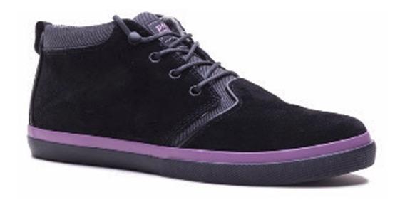 Zapatillas De Vestir Quiksilver Griffin Pro Mid Black!