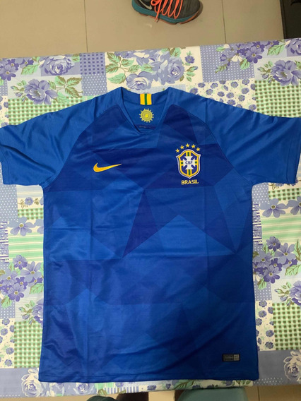 Camisa Brasil Away 2018 Nike Nova Promoção Tamanho G