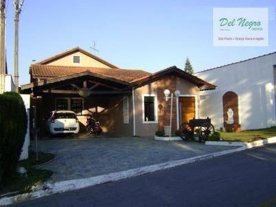 Casa Residencial À Venda, Horizontal Park, Granja Viana. - Ca0762