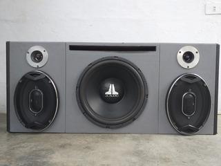 Bajo Jl Audio Modelo 12w3 Con Cornetas Jbl 6x9