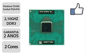 Processador Pentium T4300 2.10ghz Notebook - Promoção!