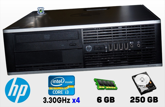 Cpu Hp Pro 6300-sff Intel Core I3 3.30ghz, Hd 250gb, 6gb De Ram - Usado