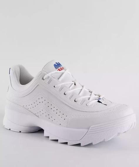 Tênis Sneaker Tratorado Dakota G0981 Branco