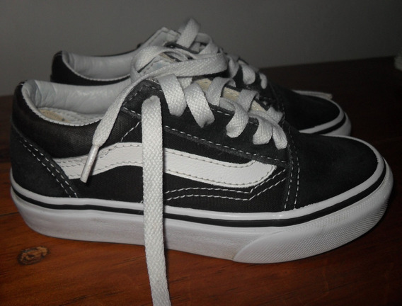 Tenis Vans Old Skool Niño (a) #16 Mx