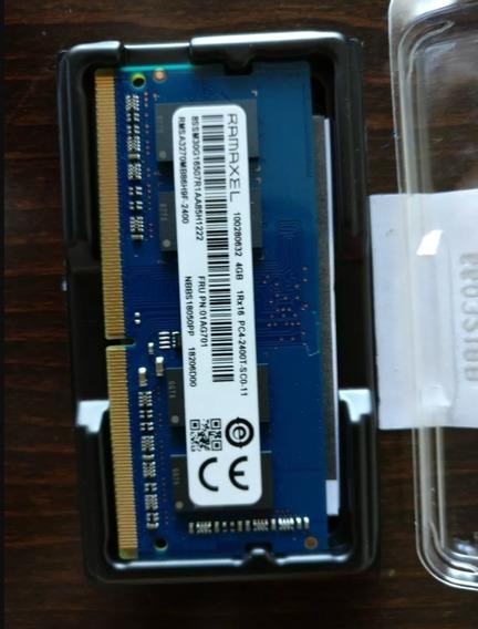 8gb - 2 Memorias De 4gb Ram Ddr4 Sodimm Ramaxel 2400mhz