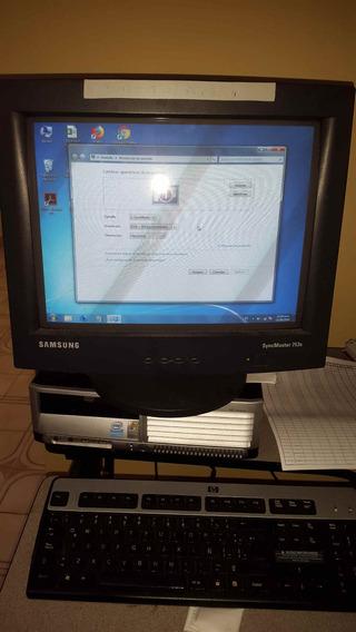 Monitor Crt Samsung Syncmaster 753s 17 Pulgadas Negro