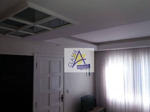 Imagem 1 de 22 de Lindo Sobrado Condominio Fechado - Ca0156
