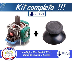 Analógico 3d Direcional Alps Controle Ps4 + Botão Analógico