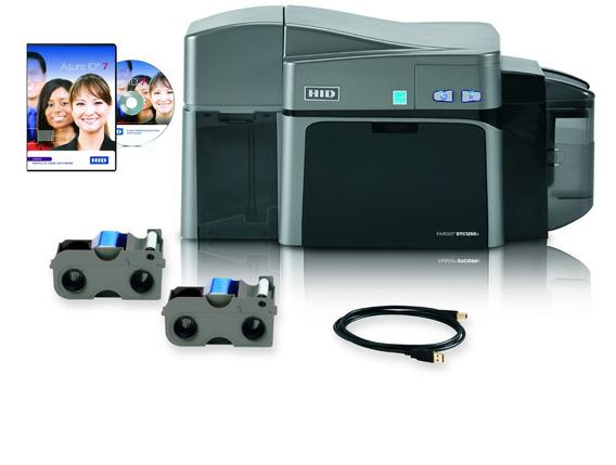 Impresora Para Credenciales En Pvc Fargo Dtc1250 Dual