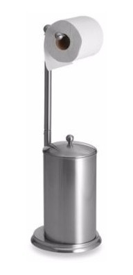 Imagem 1 de 4 de Porta Papel Higiênico Armazenamento Pedestal Banheiro