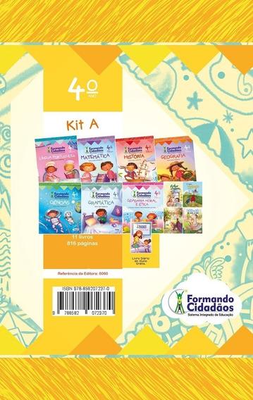 Livro Formando Cidadãos Kit A 4º Ano