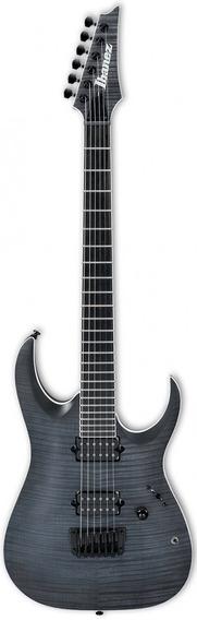 Guitarra Ibanez Rgaix6fm Iron Label Transparent Gray Flat