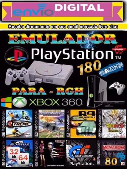 Emulador De Psx Para Pc E Xbox Rgh 180 Clasicos