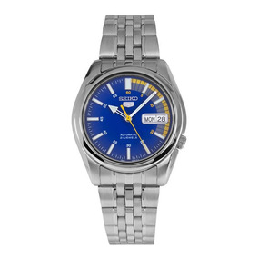 Relógio Seiko 5 - Snk371k1 - 7s26db/1 - Automatico - 21rubis