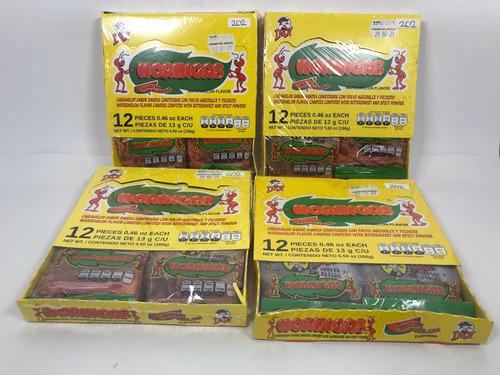 Imagen 1 de 6 de 48pz Hormigas Caramelo Sandía Con Polvo Agridulce Chile Indy