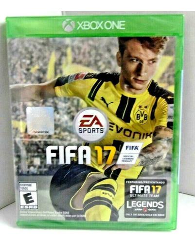 Fifa 17 Xbox One Disco Físico Sellado. Ultimate Team Legends