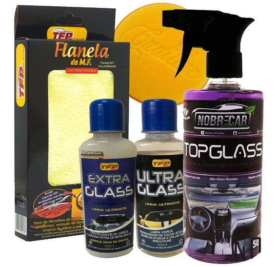 Cristalizador Vidros + Removedor Chuva Acida Limpa Vidros