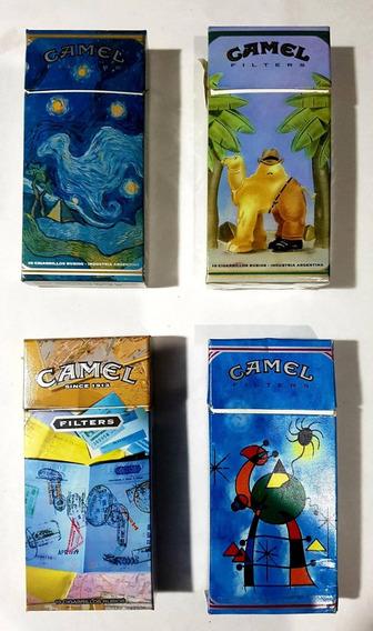 4 Marquillas De Camel Coleccionables + Una De Regalo