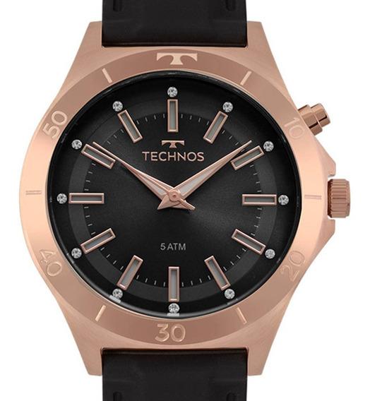 Relógio Technos Feminino Fashion Trend Original Y121e3ab/8p Rose C/ Nfe