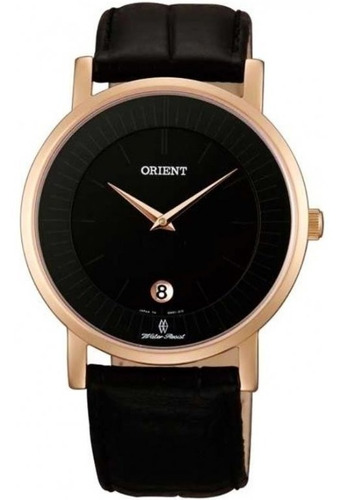 Reloj Orient Cuero Plano Caballero Fgw0100bb0 100% Original
