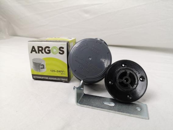 Paquete De Fotocelda Argos 127v~- 240v~ Con Base Y Mensula