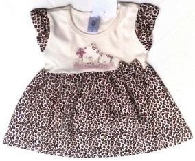Lote Vestido Bebê Casual Zero & Cia 3692 Kit Com 3