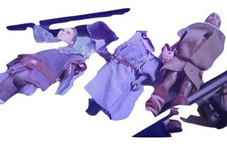 1991 Kenner Vintage Robin Hood Prince Thieves 3 Figures Lot