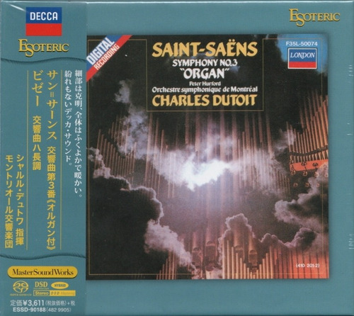 Imagen 1 de 5 de Disco Sacd Cd Saint-saens Sympho Nº3 Charles Esoteric Series