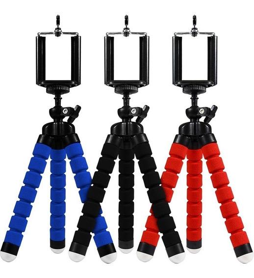 Mini Tripe P Celular E Camera Go Pro Tripe Flexivel