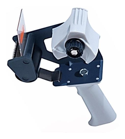 Dispensador De Cinta Adhesiva Canela De Empaque Tuk H-66 Despachador Tipo Pistola Para Sellar Cajas De Carton