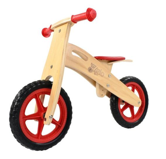 Bicicleta De Inicio De Madera Gio Eco, Sin Pedales