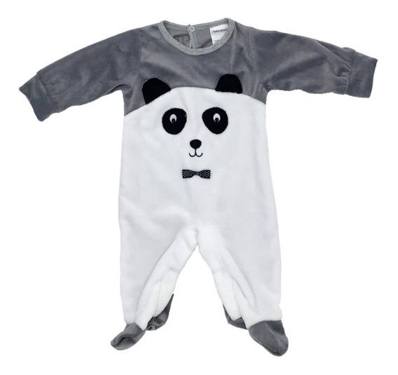 Mameluco Bordado Oso Panda
