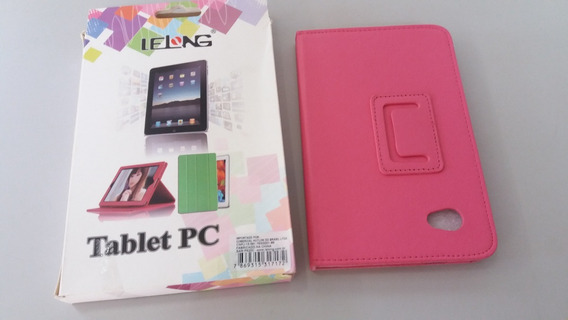 Capa Case Tablet Samsung Galaxy P6200 Pink
