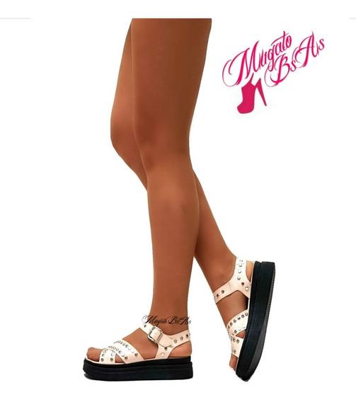 Zapatos Sandalias Mujer Plataforma Pretemporada Mugato-bsas®