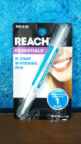 Caneta Clareamento Dental Reach - Made In Usa