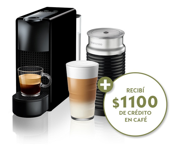 Cafetera Nespresso Essenza Mini C Aeroccino3