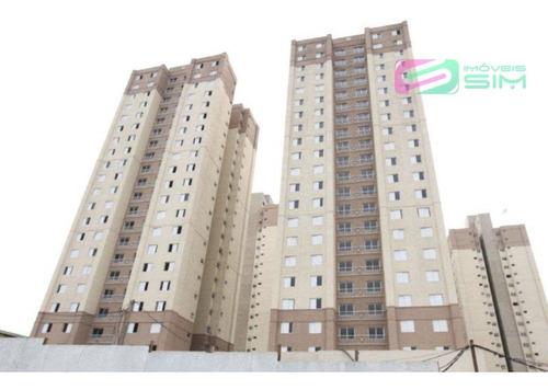 Imagem 1 de 17 de Apartamento Em Parque Erasmo Assunção - Santo André - 4609