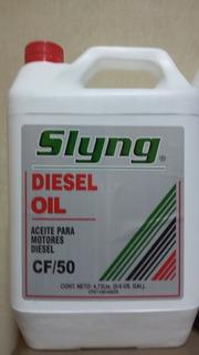 Aceite Diesel 50 Sling Galon De 5litros.