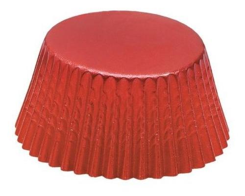 Fox Run 4926 Vasos Desechables De Papel De Aluminio Rojo, 3