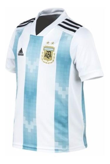 Camiseta Ads Argentina Mundial 18 Niñ-sagat Deportes- Oferta