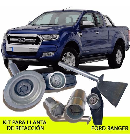 Sparelock Kit Llanta Refacción Ford Ranger - Garantía Antirrobo Y Envío Gratis!