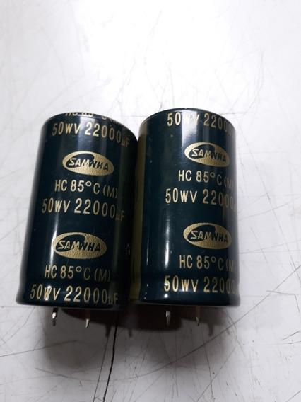 Capacitores Do Receiver Marantz ( 50wv Por 22000uf) Novo